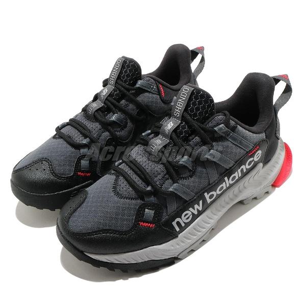 New Balance 慢跑鞋 Shando Wide 黑 灰 寬楦頭 女鞋 復古越野跑鞋 Trail 運動鞋 【ACS】 WTSHARKD