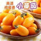 【愛上新鮮】美濃鮮採橙蜜香小蕃茄 3斤(禮盒裝/3斤裝)