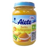 Alete綜合奶油蔬菜190g 4個月大以上幼兒適用【德芳保健藥妝】