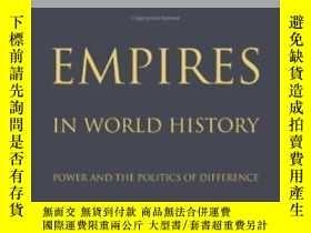 二手書博民逛書店Empires罕見In World HistoryY256260 Jane Burbank Princeton