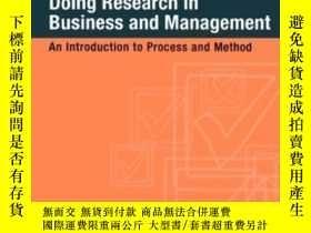 二手書博民逛書店Doing罕見Research In Business And ManagementY256260 Remen
