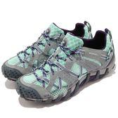 Merrell 戶外鞋 Waterpro Maipo 灰 綠 女鞋 水陸兩棲 運動鞋【PUMP306】 ML65234