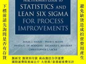 二手書博民逛書店Practitioner s罕見Guide to Statistics and Lean Six Sigma fo