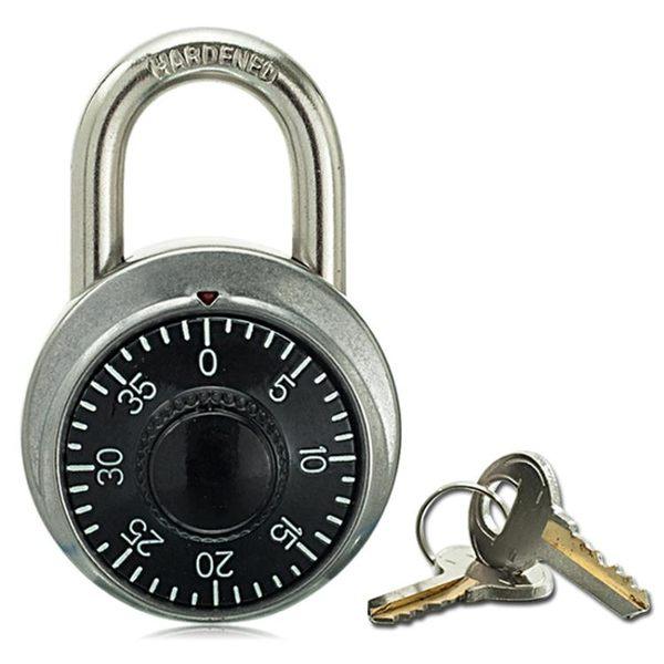 大號轉盤保險箱式密碼鎖管理鑰匙密碼雙開倉庫大門船舶廂貨掛鎖【極有家】