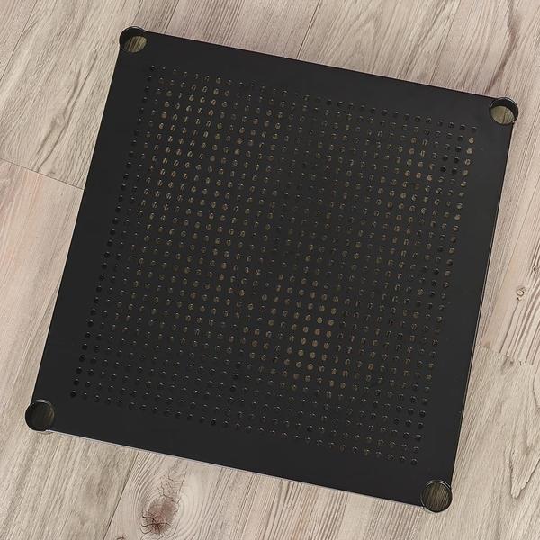 收納架/置物架/層架 【配件類】極致美學45X45cm沖孔烤漆黑層板(含夾片) dayneeds