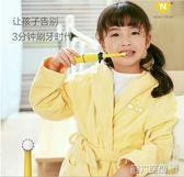 電動牙刷 電池款卡通兒童電動牙刷 小孩電動牙刷旋轉式軟毛3-6-12歲 igo 第六空間
