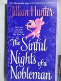 【書寶二手書T2/原文小說_ODO】The Sinful Nights of a Nobleman