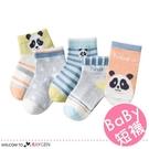 兒童夏季熊貓網眼透氣短襪 船襪 5雙/組