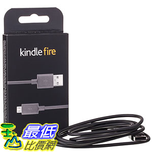 [美國直購] Amazon 53-000407 原廠 連接線 Kindle Fire 5ft USB to Micro-USB Cable (works with most Micro-USB Tablets)