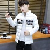 新款冬季棉衣男韓版修身羽絨棉服短款潮流男裝棉襖子帥氣學生外套