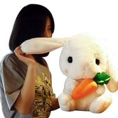 兔子毛絨玩具布娃娃公仔少女心可愛禮物睡覺抱枕女孩小玩偶垂耳兔wy