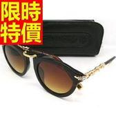 太陽眼鏡 偏光墨鏡(單件)-抗UV復古經典款時髦流行運動57ac26[巴黎精品]
