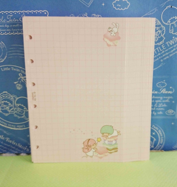 【震撼精品百貨】Little Twin Stars KiKi&LaLa 雙子星小天使~六孔便條紙