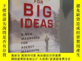 二手書博民逛書店Casting罕見for big ideas:a new man
