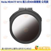 @3C 柑仔店@ Haida HD4477 M10 插入式ND8漸層鏡 公司貨 漸層 ND濾鏡 ND0.9 快插式