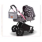嬰兒車收納袋 嬰兒車掛包多功能媽咪包收納袋防水通用寶寶嬰幼兒童手推車掛袋包 快樂母嬰