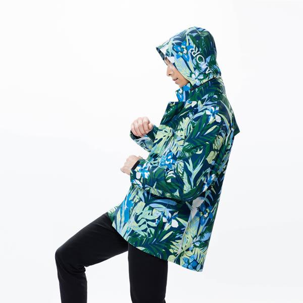 【MORR】Techler 流線剪裁機能防水外套 【叢林綠】防水/透濕/透氣/戶外活動