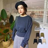 LULUS-Y縮腰短版針織上衣-5色 【01190950】