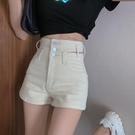 休閒短褲 超高腰牛仔短褲女春夏季年新款顯瘦A字熱褲寬鬆薄款褲子ins潮 格蘭小鋪