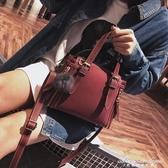 手提包女包時尚小包磨砂皮手提包側背包女包
