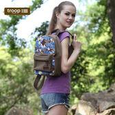 【TROOP】經典品格CLASSIC雙肩包/TRP0360BN(棕色)