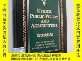 二手書博民逛書店英文原版書罕見Ethics,Public Policy and