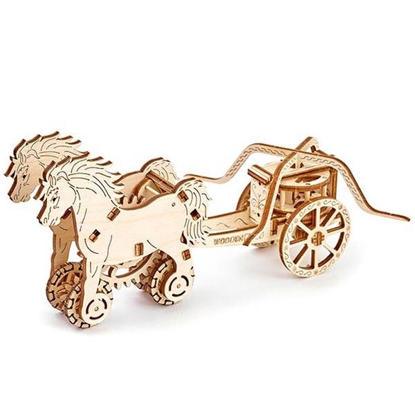 WOODEN.CITY 達文西戰車 Chariot Da Vinci 達文西十大武器 復刻模型  送禮交換禮物 DIY擺設