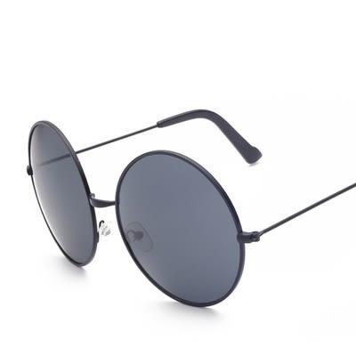 太陽眼鏡-時尚經典圓框造型男偏光墨鏡8色73en21[巴黎精品]