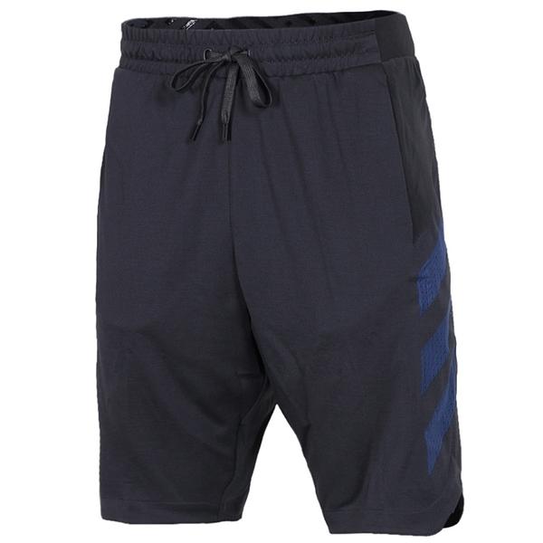 ADIDAS HARDEN ELEVATED 鐵灰 藍 棉 短褲 籃球褲 男(布魯克林) CE7327