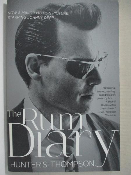 【書寶二手書T6/原文小說_HY4】The Rum Diary_Thompson, Hunter S.