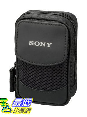 [A美國直購 ShopUSA] Sony 萬用軟式相機包 LCSCSQ Soft Carrying Case for Sony T, W, and N Series (Black)
