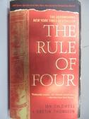 【書寶二手書T3/原文小說_MKV】The Rule of Four