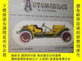 二手書博民逛書店Automobiles罕見of Yesteryear:A Pic