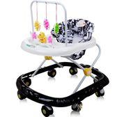 寶寶助步學步車6/7-18個月防側翻多功能帶音樂玩具車 魔法街