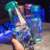 創意潮流學生水杯子塑料便攜防漏少女心韓國清新可愛韓版簡約水瓶  范思蓮恩