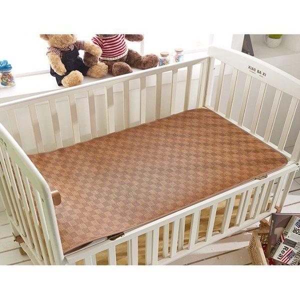 嬰兒床搖籃藤蓆  幼稚園兒童涼蓆【潮咖範兒】