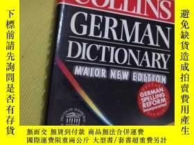 二手書博民逛書店The罕見New Collins German Dictionary Major New Edition【新版 德
