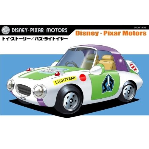 TOMICA迪士尼小汽車 DM-22新巴斯光年小汽車 (DISNET MOTORS)