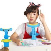 坐姿矯正器 兒童視力保護器預防小學生防糾正寫字姿勢儀架      非凡小鋪