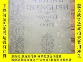 二手書博民逛書店《WRITING罕見IN ENGLISH》Y2233 A MODERN SCHOOL COMPOSITION