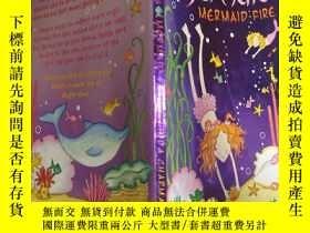 二手書博民逛書店Not罕見Quite a Mermaid: Mermaid Fire:不太像美人魚:美人魚之火Y200392