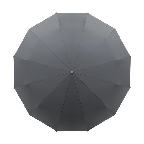 超大傘面 加大款 125cm 12骨傘架 簡約素面 防風 荷葉疏水 一鍵開合 自動傘 雨傘 晴雨傘