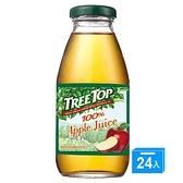 樹頂 樹頂蘋果汁300mlx24【愛買】