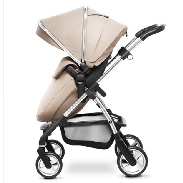 SilverCorss Wayfarer 雙向嬰兒推車(附贈杯架、雨罩、保暖罩)沙褐色、辣椒紅、銀灰色、復古粉、莓紅