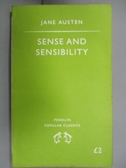 【書寶二手書T6/原文小說_ORU】Sense and Sensibility_Austen, Jane