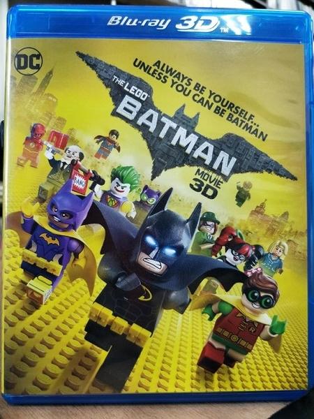 挖寶二手片-TBD-069-正版BD-動畫【樂高蝙蝠俠電影 3D+2D雙碟】-藍光影片 LEGO(直購價)