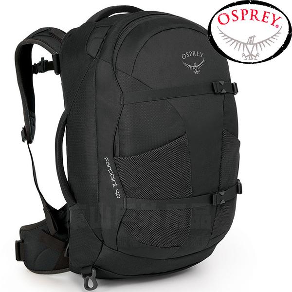 OSPREY Farpoint 40L Travel Pack Carry-On_火山灰 自助旅行背包/登機包/旅行背包/雙肩背包/肩帶可收納