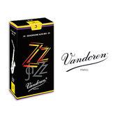 小叮噹的店- 法國 Vandoren ALTO ZZ 中音薩克斯風竹片 黑盒 10片裝A-ZZ
