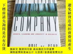 二手書博民逛書店The罕見living company:Growth,learn