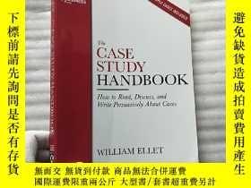 二手書博民逛書店The罕見CASE STUDY HANDBOOK 16開 【內頁幹凈】Y10893 William Ellet